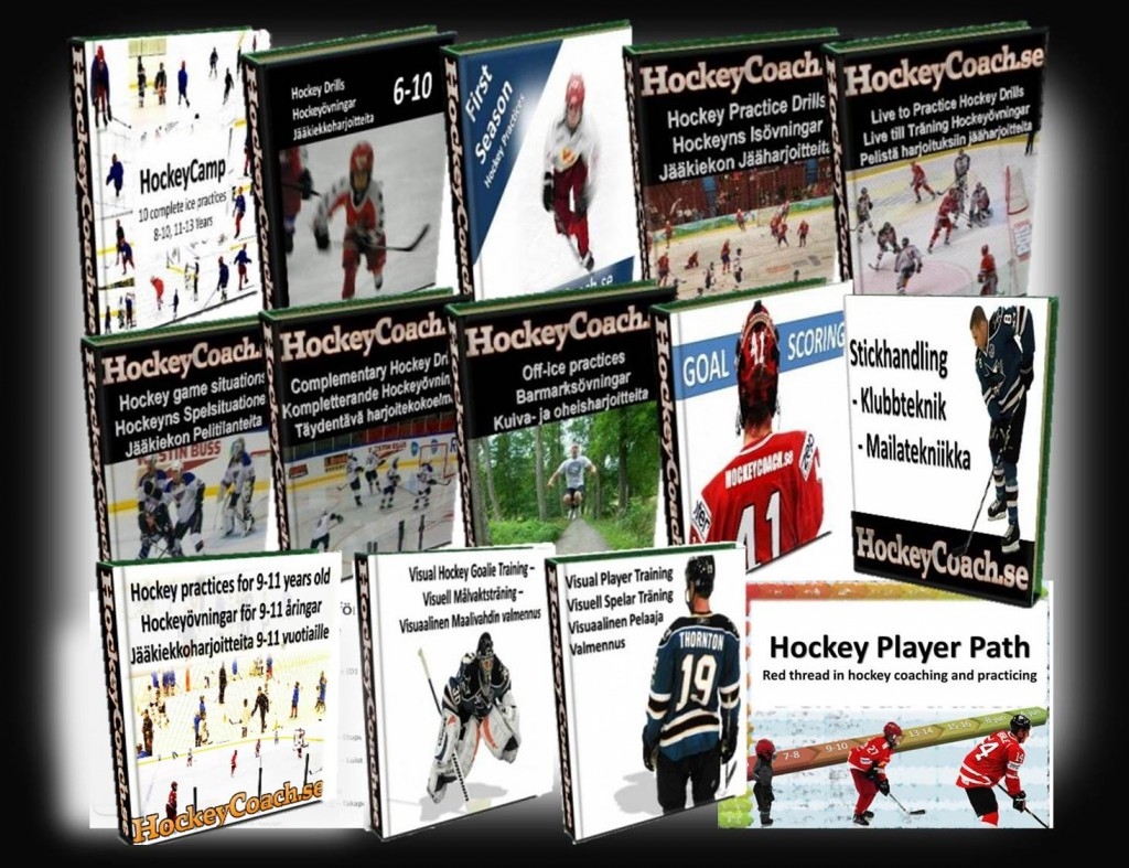 Hockey Coaching drills and practices eBooks