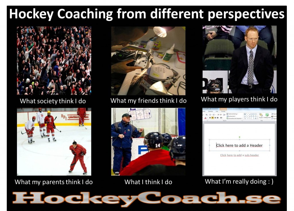 Hockey, Coaching, Coach, Perspective, Parents, Society, Friends, Players, I, You, Do