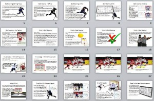 Hockey, Goal, Scoring, Training, Coaching, eBook, Pages, Practices, Drills