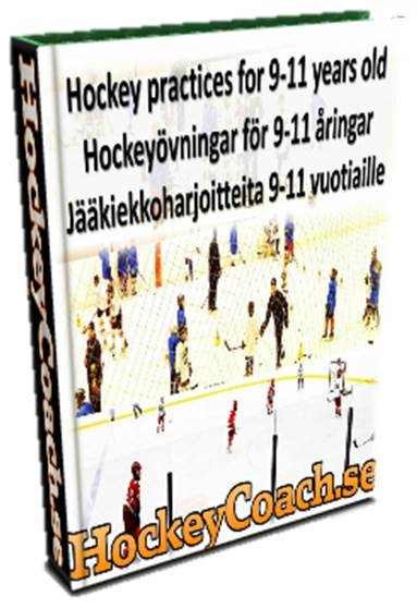 9-11 Hockey practices and drills eBook